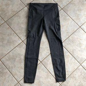 Grey lululemon stash pocket leggings 6